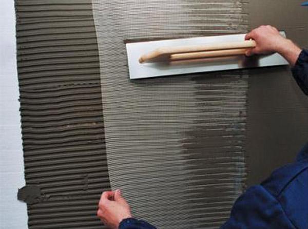 Монтаж армирующей сетки на пенопласт