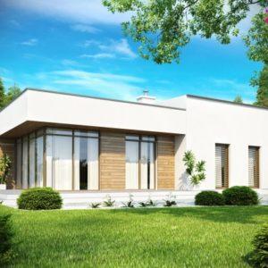 плоская крыша в частном доме