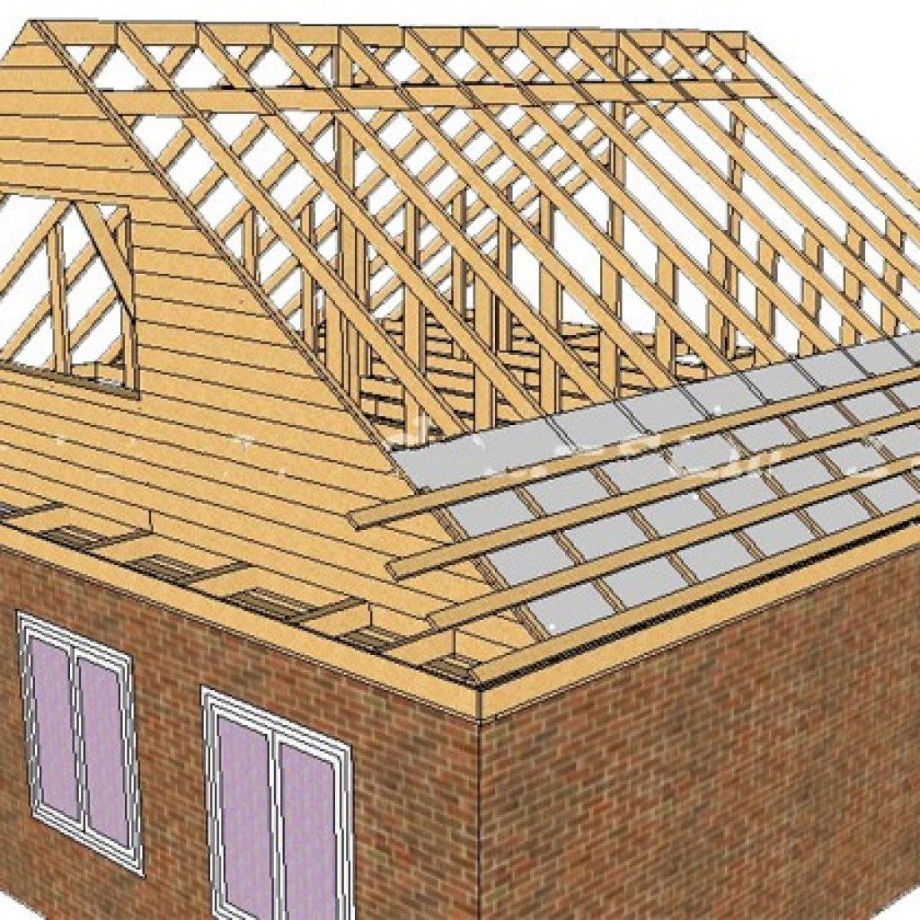 Обрешётка крыши дома своими руками