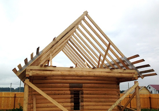 Стропила гараж для двухскатной крыши своими руками