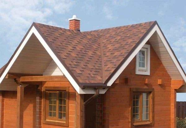 популярная конструкция крыши