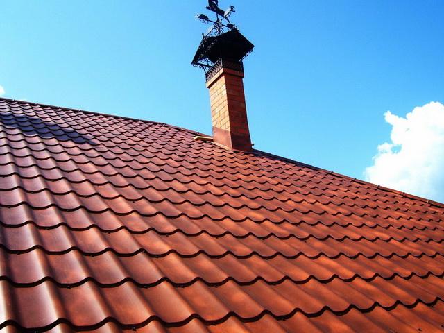 Крыша из металлочерепицы Cloudy