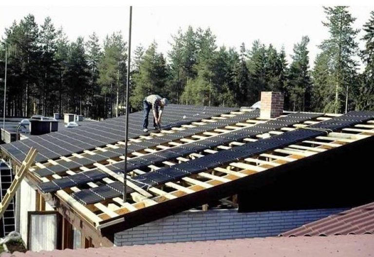 Накрыть крышу металлочерепицей 70