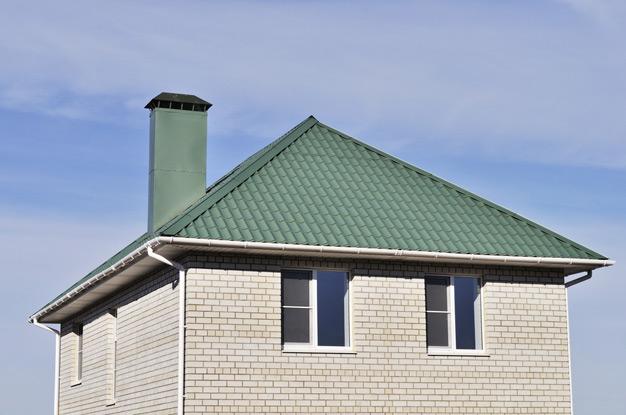 Шатровая четырехскатная крыша