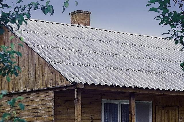 Бюджетная крыша из шифера