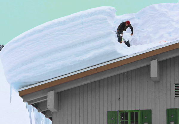Влияние снежного покрова на уклон крыши