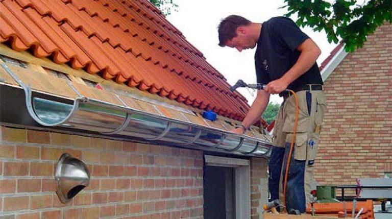 Установка отлива своими руками для крыши