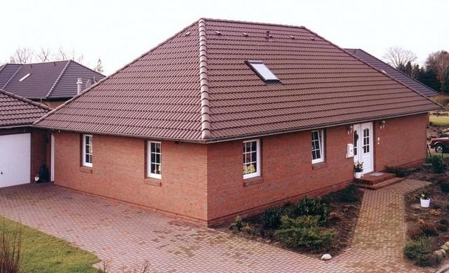 Вальмовая крыша из металлочерепицы