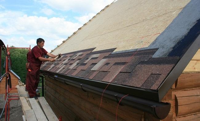 Как крыть крышу мягкой черепицей