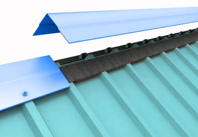 Укладка металлочерепицы шаг за шагом