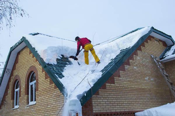 Учет количества осадков для выбора угла наклона крыши