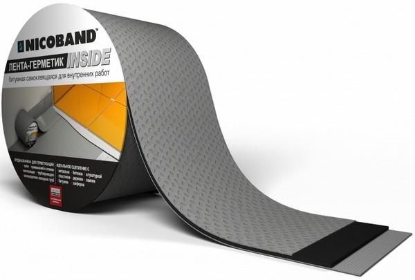 Самоклеющая герметизирующая лента Nicoband