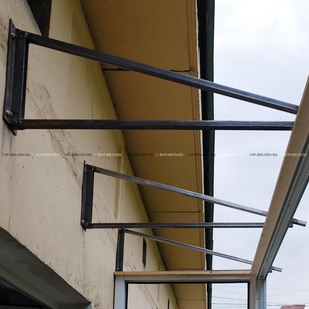 Крыша на балкон или лоджию (вип-балкон, москва).