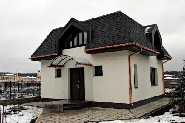 Водосточная система вальмовой крыши