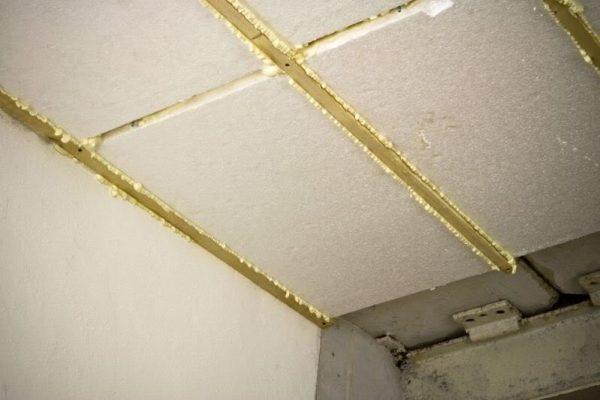 Утепление крыши гаража пенопластом