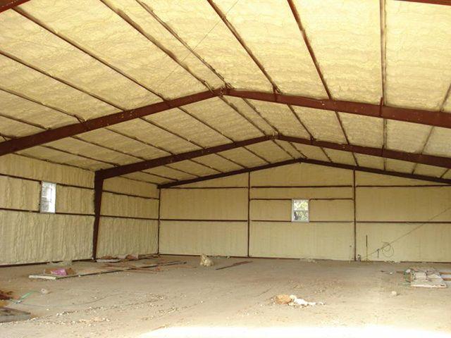Утепление крыши гаража минеральной ватой