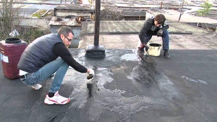Самостоятельная гидроизоляция крыши гаража