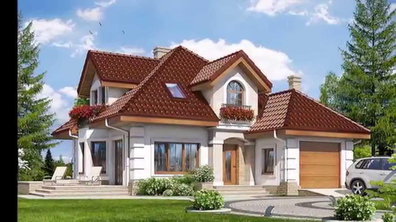 103-35 - проект европейского дома с гаражом 13 на 11 м.