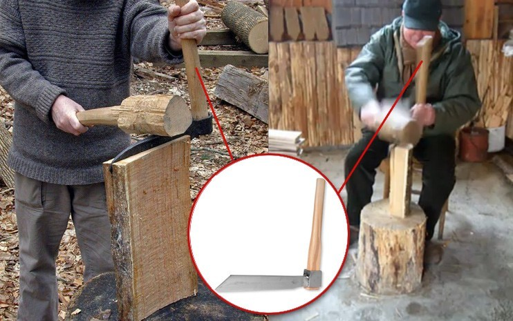 Изготовление дранки методом колки