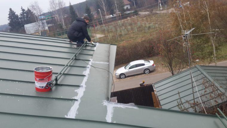 Устранение протечек на крыше