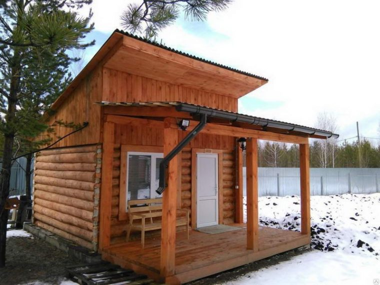 Односкатная крыша отличается простотой конструкции и удобством эксплуатации