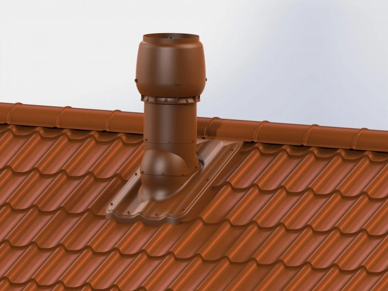 Установка проходных элементов на крыше