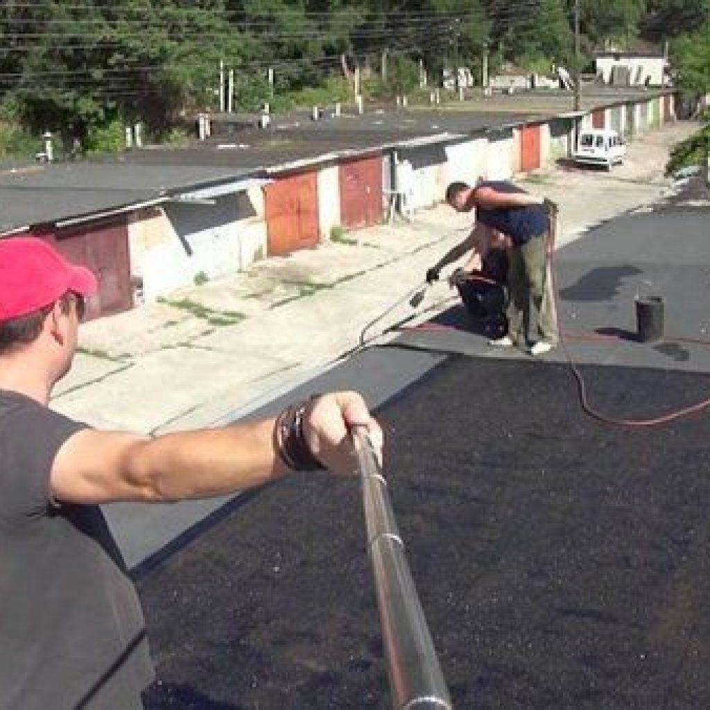 Как устранить течь в крыше