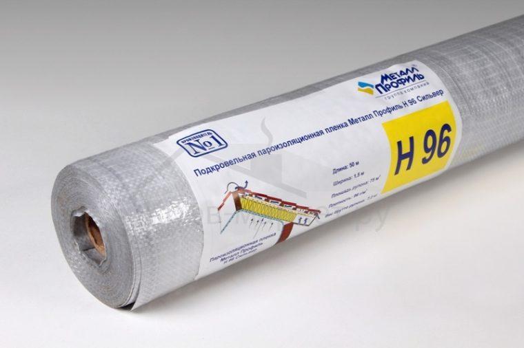 Полипропиленовая пароизоляционная пленка Металл Профиль