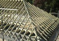 Вальмовая крыша: конструкция стропильной системы