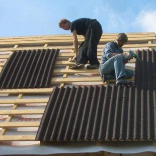 Сколько листов ондулина нужно на крышу
