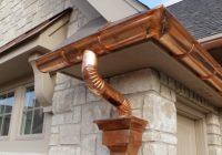 Как сделать водоотвод с крыши своими руками?