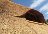 Изучаем как сделать крышу из камыша