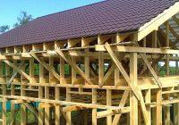 Делаем крышу в каркасном доме самостоятельно