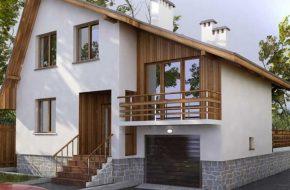 Проекты домов с гаражом и баней под одной крышей