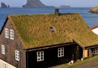 Дом с зелёной крышей