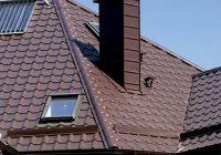 Делаем проход трубы через крышу из металлочерепицы