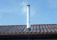 Делаем проход сэндвич трубы через крышу
