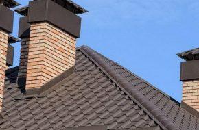 Как правильно установить дымоход через крышу?