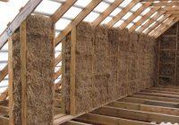 Как построить дом из соломы?