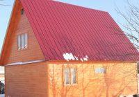 Выясняем сколько стоит перекрыть крышу профнастилом в частном доме?