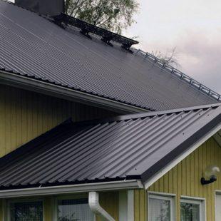 Инструкция по монтажу профнастила на крышу