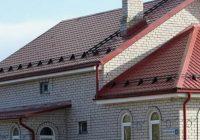 Монтируем снегоуловители на крышу своими руками