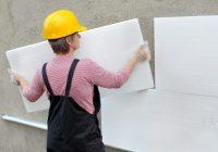 Отделка стен экструзионными пенополистирольными плитами