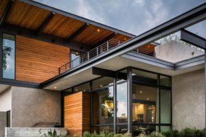 Изучаем проекты современных домов и коттеджей с плоской крышей