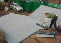 Как можно отремонтировать крышу гаража?
