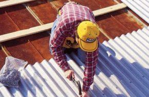 Крыша из металлопрофиля: крепим правильно