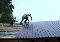 Как правильно перекрыть крышу гаража?