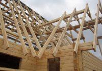 Как правильно поставить стропила на крышу?