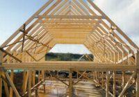 Как правильно сделать стропила для двускатной крыши?