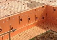 Экструдированный пенополистирол для утепления отмостки, цоколя здания